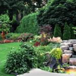 the process of gardenlighting